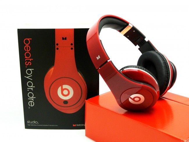 HiFi стерео слушалки Beats STUDIO RED by Dr.DRE - високо качество реплика
