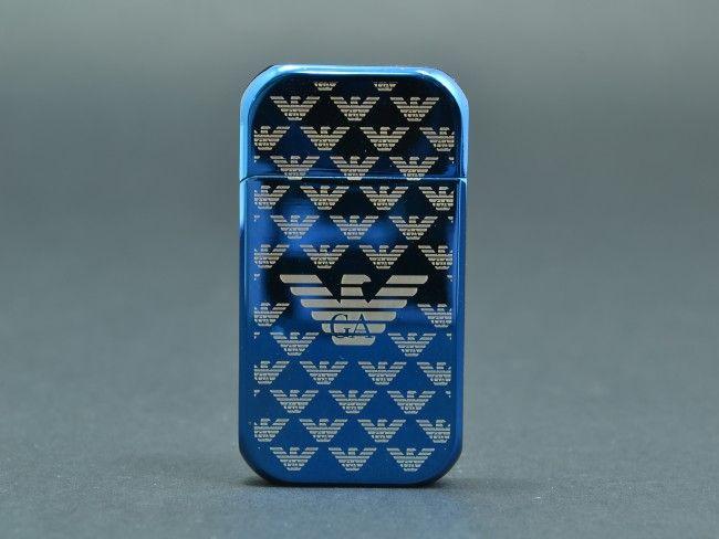 Елегантна USB запалка GA с вградена батерия, метален корпус и подаръчна кутия + ПОДАРЪК