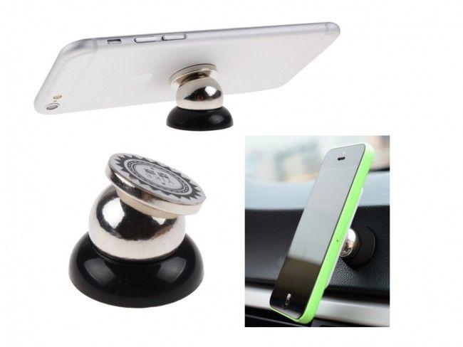 Уникална метална магнитна стойка за телефон WW - семпла, здрава, супер функционална
