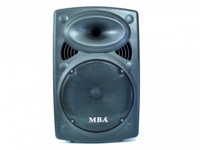 Мощна активна караоке система MBA F12 500W, 160W RMS с 2 безжични микрофона