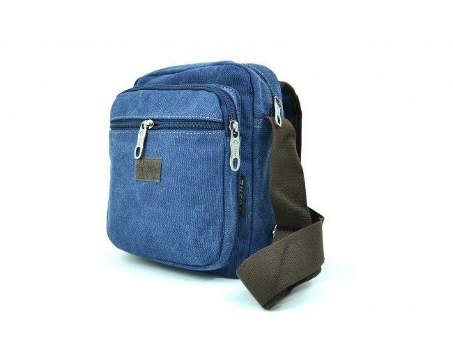 Мъжка чанта - 1607 BLUE за през рамо