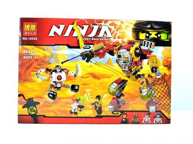 Голям конструктор NINJA 10525 тип