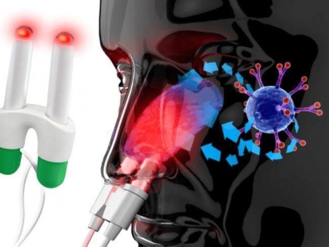 Революционен BIONASE светлинен уред лекува запушен нос, алергии и настинки