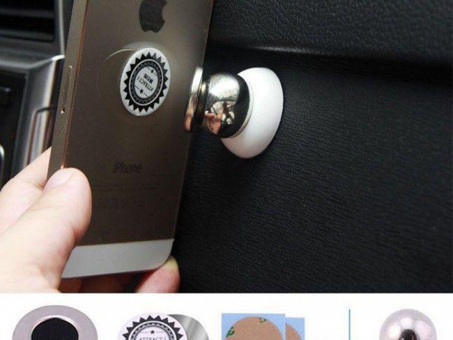 Уникална метална магнитна стойка за телефон BMW - семпла, здрава, супер функционална