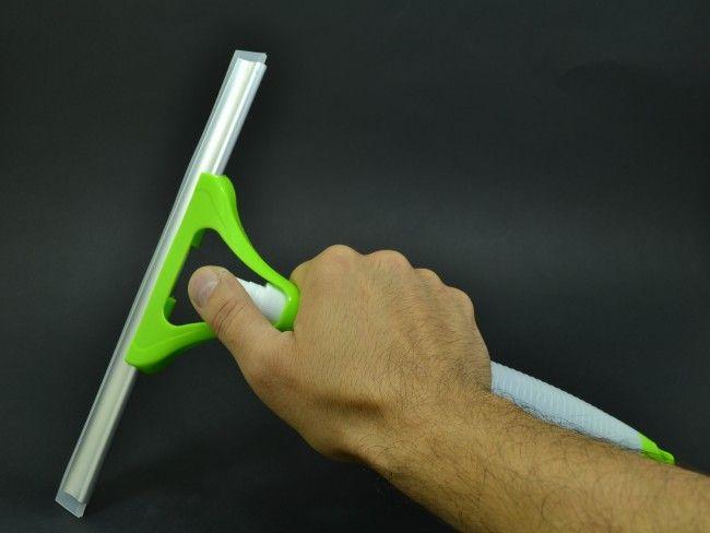 Супер иновативна силиконова стъклочистачка 2 в 1 с вграден спрей за препарат - 3005