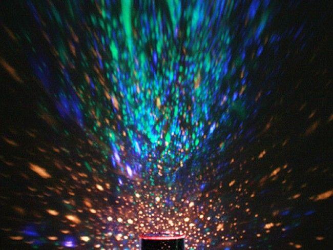 Ярко звездно небе с Нощната LED лапмата STAR MASTER, 3xAA