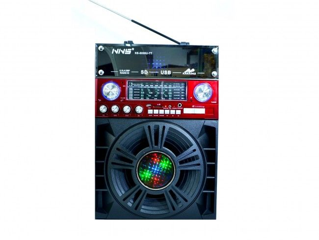 Акумулаторна караоке аудио система HARMAN8006 OLD FASHION с безжичeн караоке микрофон