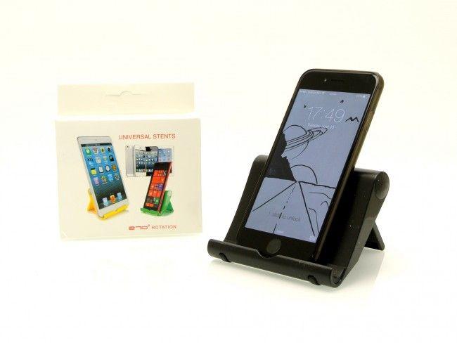 Настолна супер стойка за телефони и таблети Magic Holder BLACK