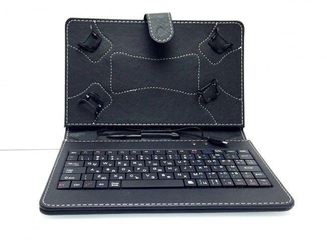 Калъф за таблет 7 инча с кирилизирана клавиатура