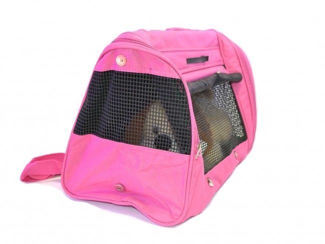 Луксозна пътна чанта 3350 PINK за домашен любимец