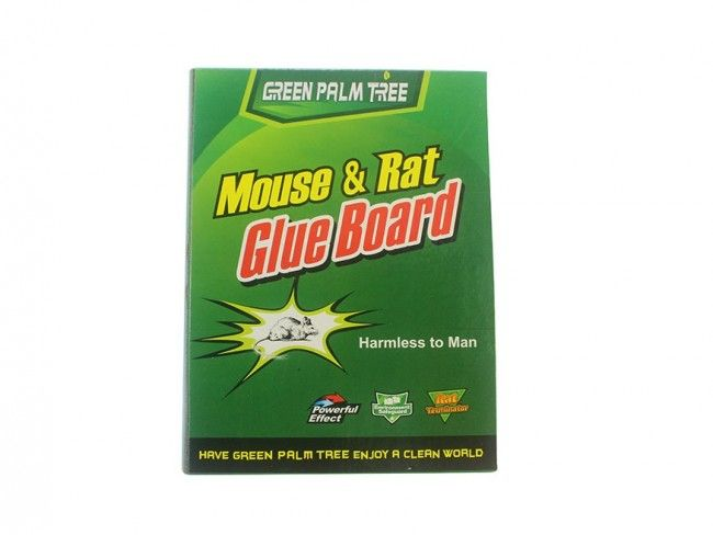Лепкащ капан за плъхове и мишки - безопасен, без токсини и отрови