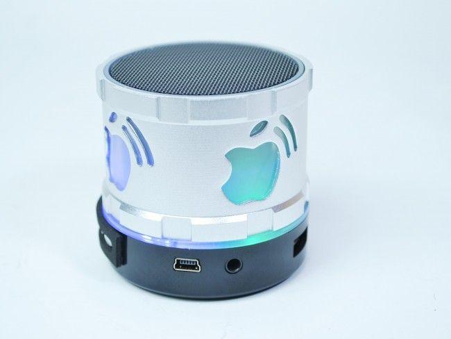 Супер мощна мини колонка APPLE - bluetooth, MP3, AUX, FM Radio - в четири цвята