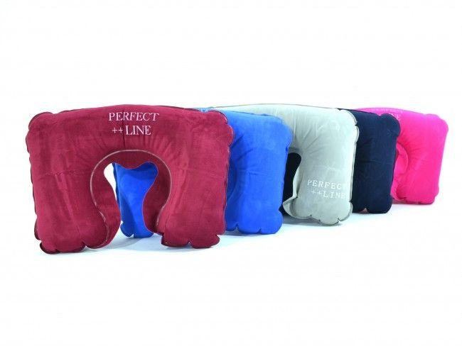 Надуваема възглавничка за пътуване - кадифе