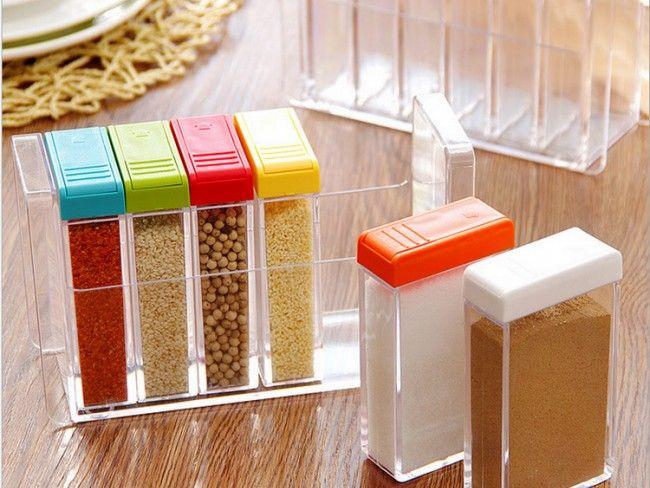 Уникален кухненски сет за подправки - красив и функционален