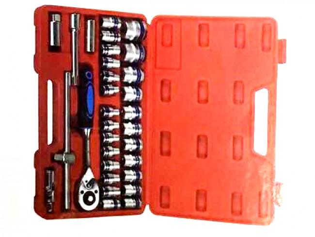 Куфар с 32 инструмента Dr.Socket Wrench Set SR-1011 32 части
