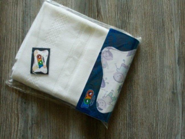 Топло антиалергично плетено бебешко одеяло Yo Yo Kids 90 х 90 см- БЯЛО, 951