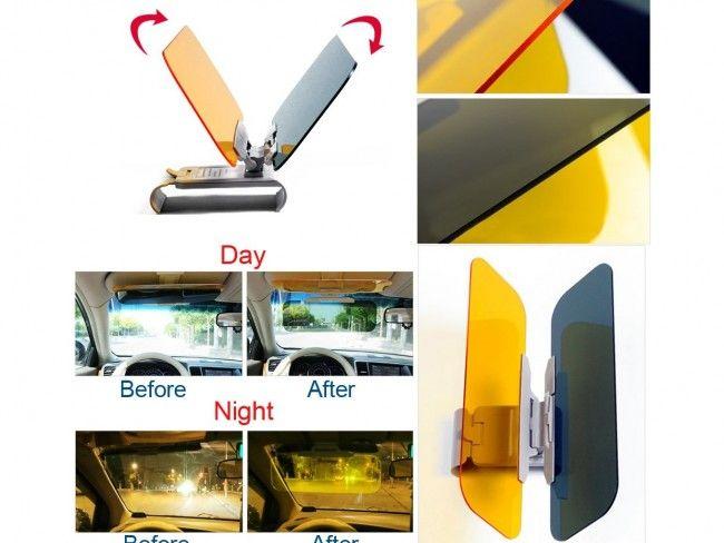 СУПЕР ОФЕРТА: комплект HD Visior за безопасно дневно и нощно шофиране