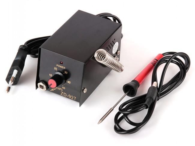 Професионален поялник-станция с регулируема температура 100-450 °C ZD-927