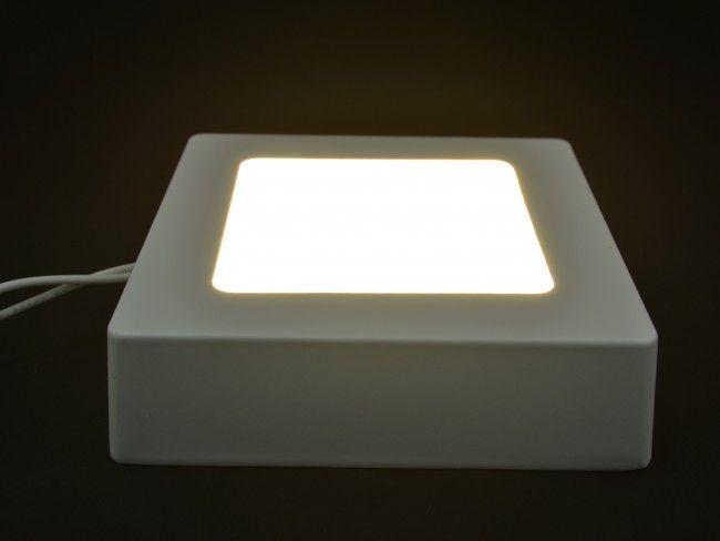 LED осветително тяло за стена или таван с висока светимост 6W 3000К жълта светлина