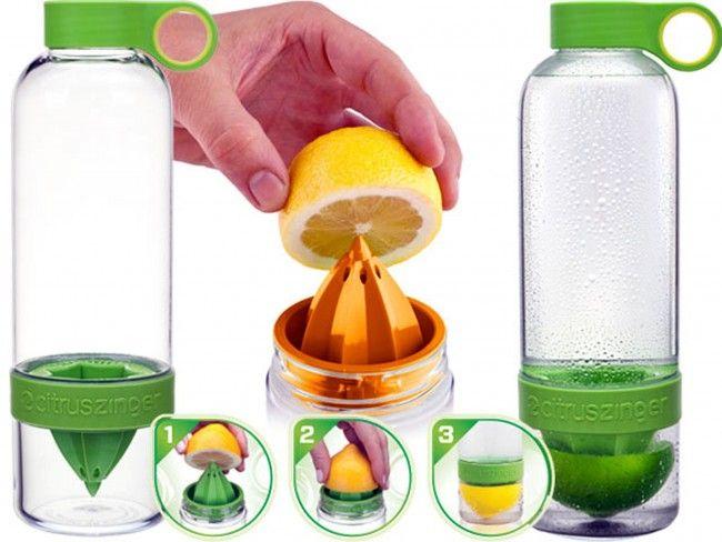 Водата ти вече е със свеж аромат на цитрус в бутилката CITRUS Zinger