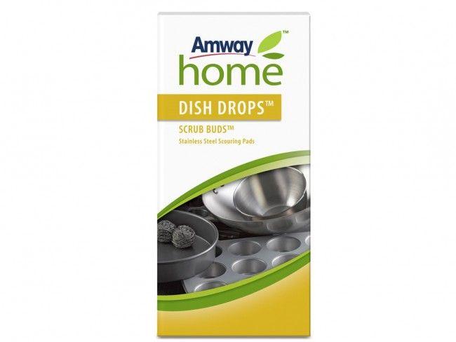 AMWAY HOME™ DISH DROPS™ SCRUB BUDS™ - 4 броя вечни метални телчета от неръждаема стомана