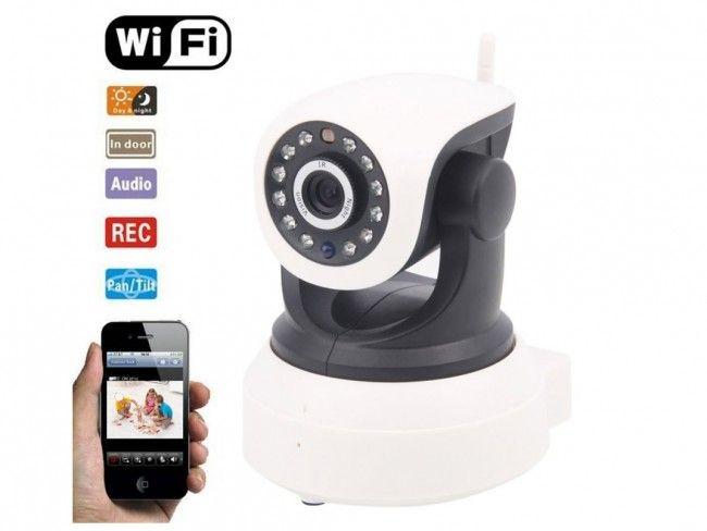 IP видео камера IP5330 за наблюдение и охрана WiFi самостояща и движение 360 градуса