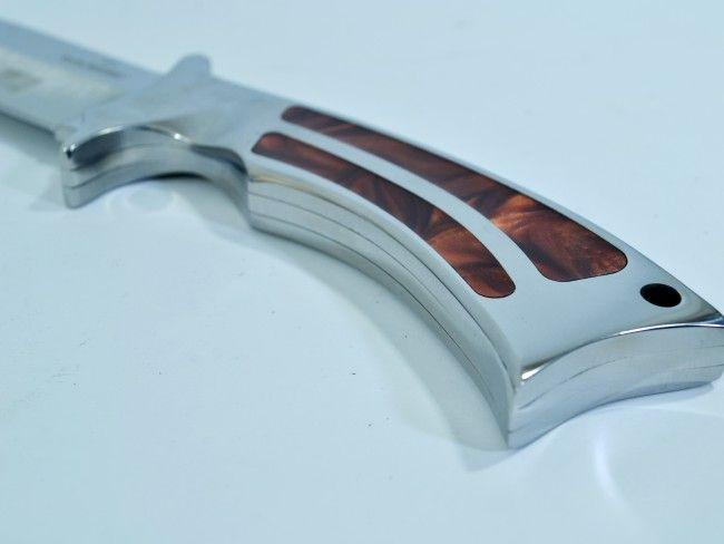 Много тежък ловен нож COLUMBIA USA A11 с широко острие и кания