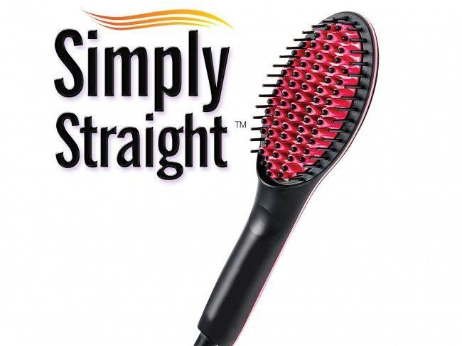 Керамична четка за бърз стайлинг - сушене и изправяне на косата Straight Artifact