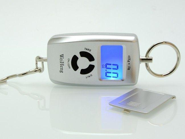 Висококачествен компактен дигитален кантар до 45 кг