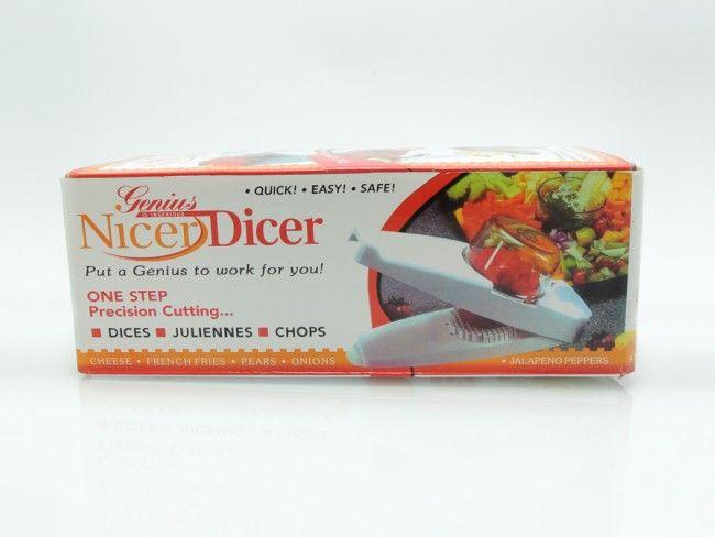 Genius Nicer Dicer за лесно приготвяне на салати, супи, предястия