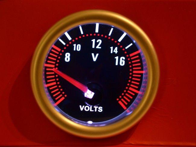 TUNING уред - волтметър за измерване работното напрежение на инсталацията 6197SB