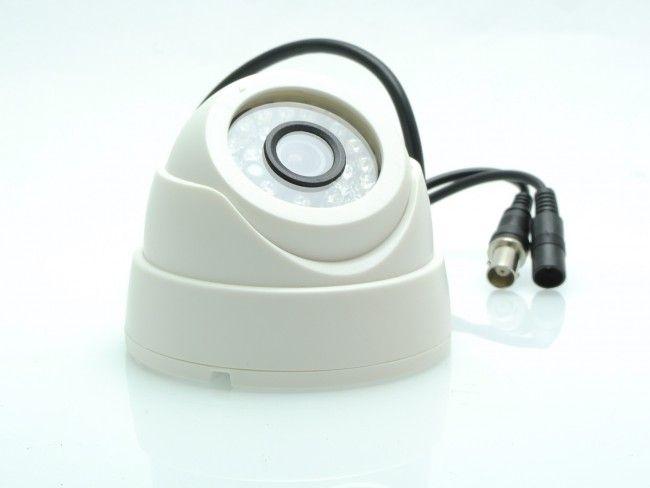 Куполна охранителна камера за вътрешен (защитен) монтаж КТ 1005