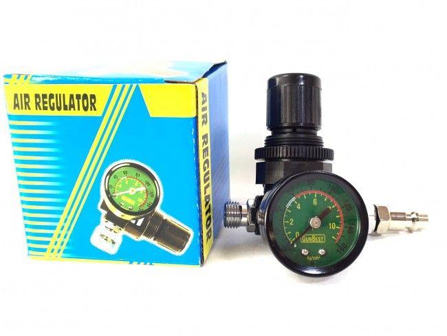 Вентил - регулатор на налягането с механичен манометър - Air Regulator LG04