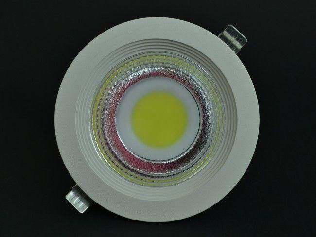 LED осветително тяло за вграждане с висока светимост и консумация 20W, 6000к бяла светлина