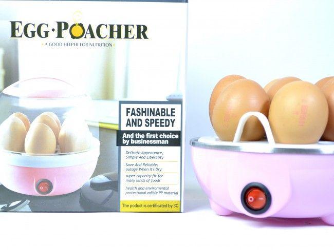 Бърза автоматична яйцеварка за 7 броя яйца по всеки вкус - EGG POACHER