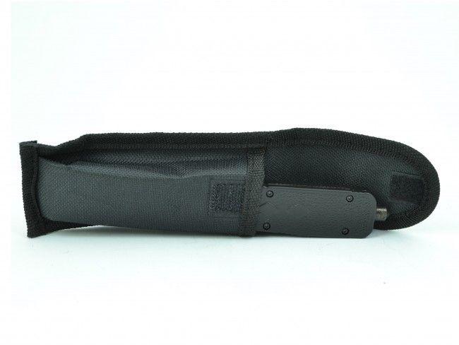 Високотехнологичен американски пружинен нож Micro Cutting Tools A12 BLACK - MICROTECH