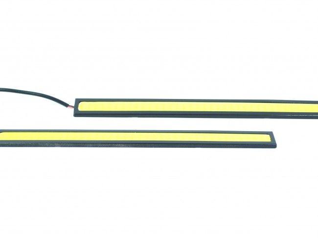2 броя водоустойчиви ярки дневни LED авто светлини - AC2018 2х6W, 17 см