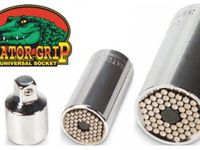 GATOR GRIP-универсален ключ за похабени, деформирани и нестандартни гайки с размер 7-19 мм