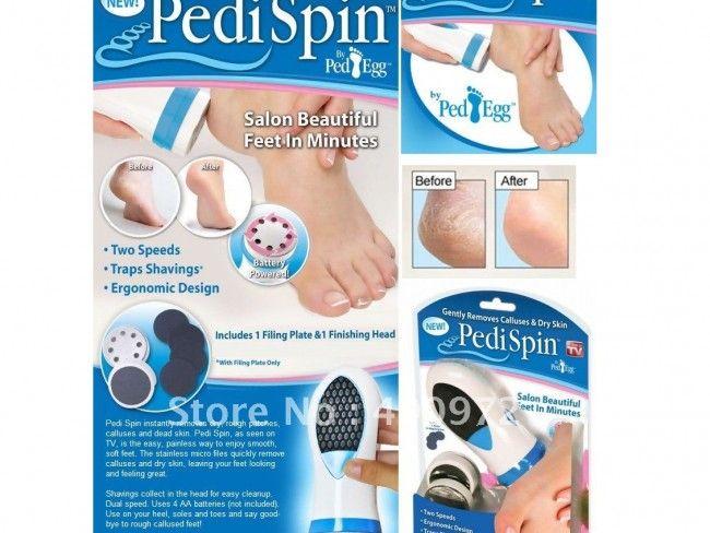 Чисти и свежи краченца с уред Pedi Spin