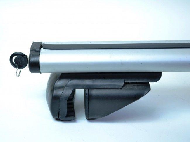 Метален автобагажник за покрив на автомобила RB890 - 2 алуминиеви релси с дължина 117 см