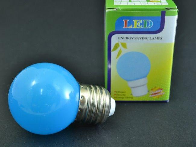 Синя LED крушка 3W E27