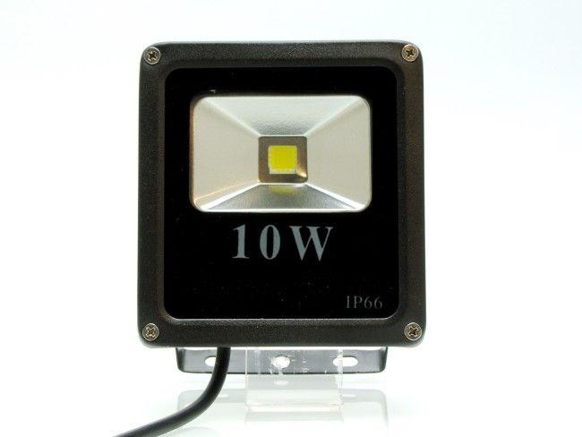 Елегантен и икономичен 10W SLIM LED прожектор за външен монтаж 12 х 12.7 х 4 см
