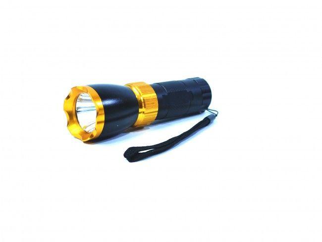 Супер мощен метален LED CREE T6 фенер със стойка за колело