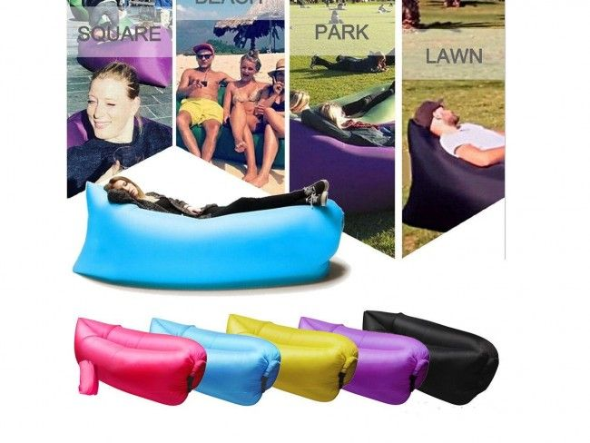 Самонадуваем диван - канапе - за плажа, двора или у дома дава комфорт и релакс