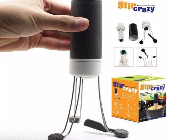 С автоматичната бъркалка Stir Crazy нищо повече няма да загори!