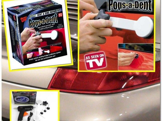 Pops a dent - комплект за изправяне на вдлъбнатини по купето на автомобила
