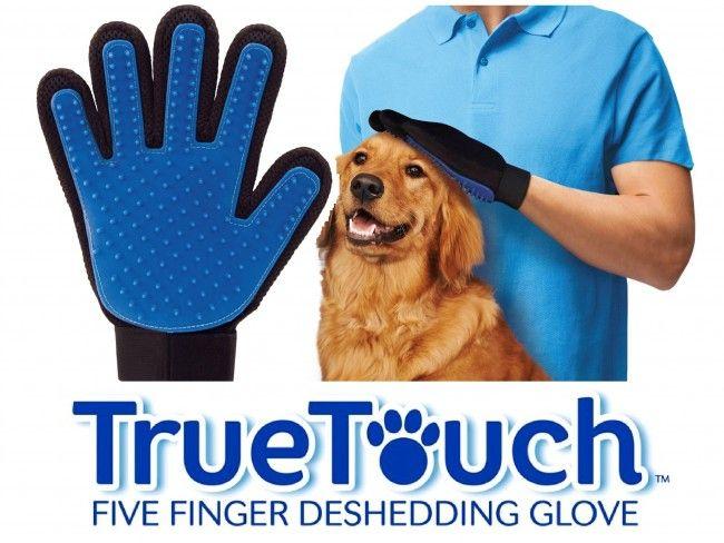 TRUE TOUCH - дълбоко масажираща силиконова ръкавица-гребен