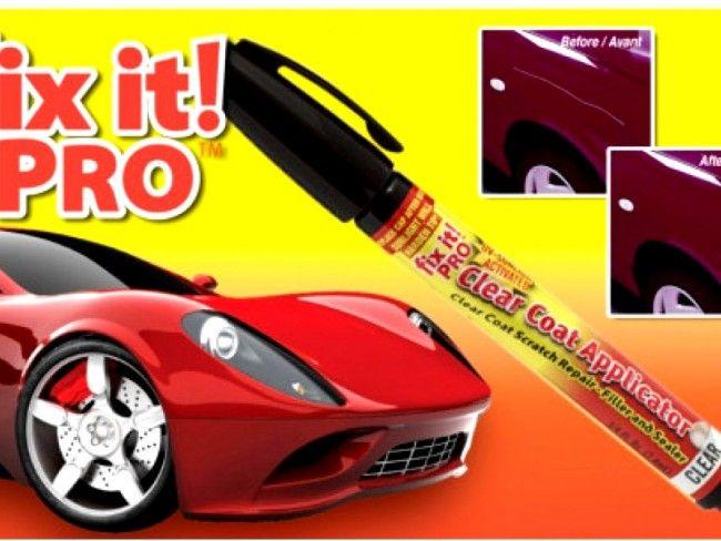 Изгарящо промо : революционен маркер за бързо скриване на драскотини Fix it Pro