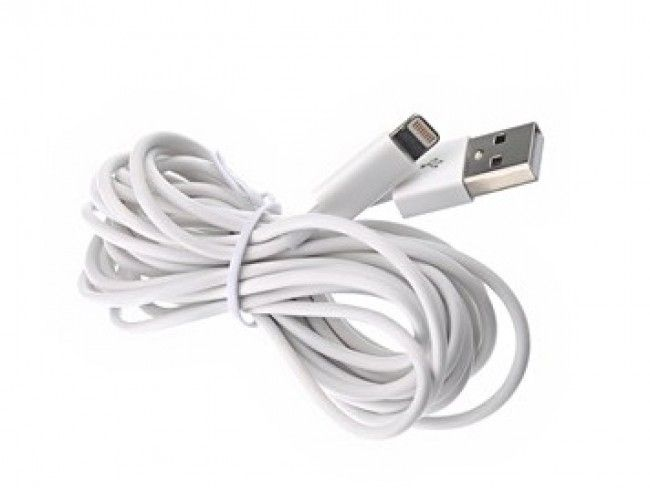 Невероятно - 3 метров суперкачествен кабел за Apple iPhone 5 / iPhone 6