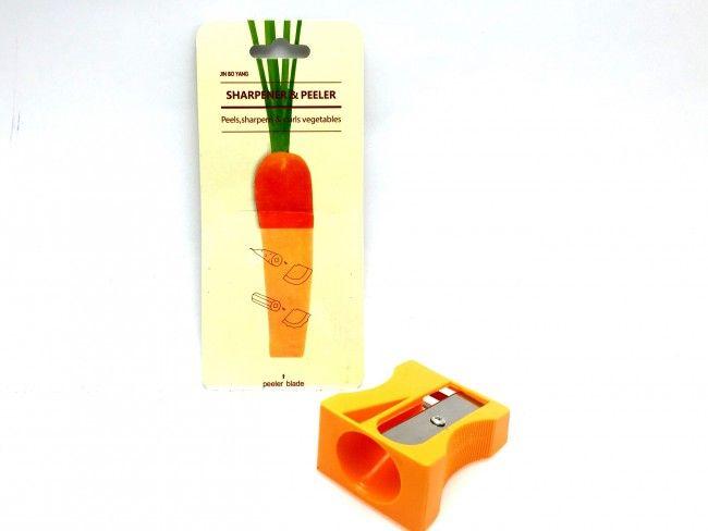 Бърза белачка-острилка и ренде за страктивни спирали от моркови